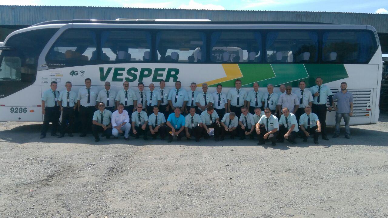 Treinamento para os Motoristas da Vesper Transportes: