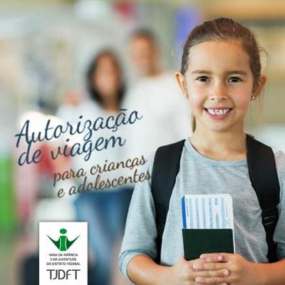 Autorização de Viagem para Crianças e Adolescentes PARA VIAGEM NACIONAL