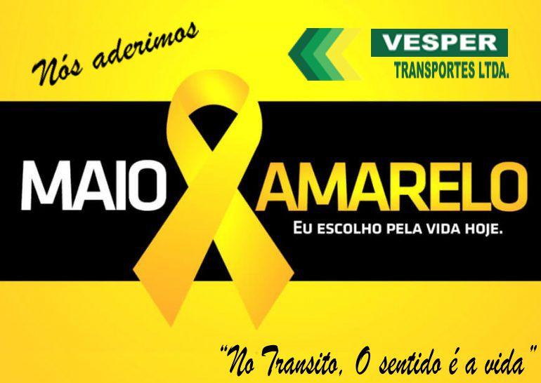 """Campanha """"Maio Amarelo"""""""